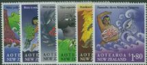 NZ SG1807-12 Maori Myths set of 6